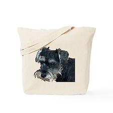 Schnauzer Profile Tote Bag