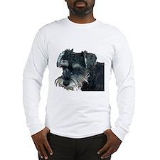 Schnauzer Profile Long Sleeve T-Shirt