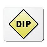 CAUTION! DIP Mousepad