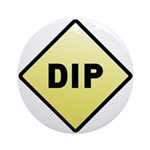 CAUTION! DIP Ornament (Round)