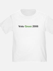 Vote Green 2008 (basic)  T