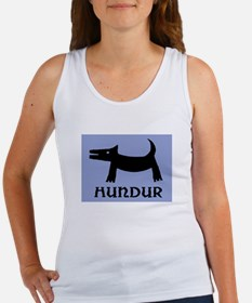 "HUNDUR - ICELANDIC ""DOG"" Women's Tank Top"