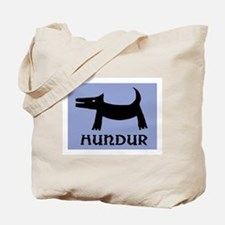 "HUNDUR - ICELANDIC ""DOG"" Tote Bag"