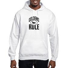 Golden Retrievers Rule Hoodie