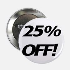 25 Percent Off Button