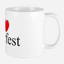 """I Love (Heart) Beerfest"" Mug"