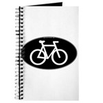 Cycling Oval B&W Journal