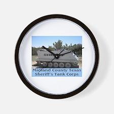 Midland Texas Wall Clock
