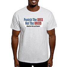 Punish The Deed Ash Grey T-Shirt