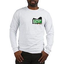 BATH AVENUE, BROOKLYN, NYC Long Sleeve T-Shirt