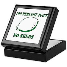 Juice No Seeds Keepsake Box