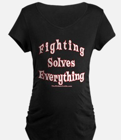 Fighting Solves Everything orig T-Shirt