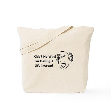 Kids No Way Tote Bag