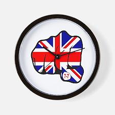 Union Jack Fist 7/7 Wall Clock