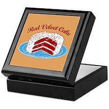 Retro Red Velvet Cake Keepsake Box