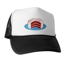 Red Velvet Cake Graphic Trucker Hat