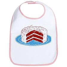 Red Velvet Cake Graphic Bib