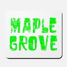 Maple Grove Faded (Green) Mousepad