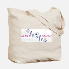 2 Mom Family Tote Bag