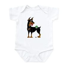 Doberman Pinscher Infant Bodysuit