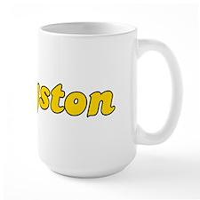 Retro Kingston (Gold) Mug