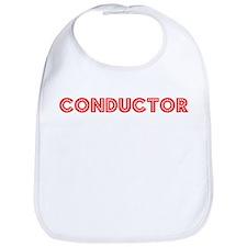 Retro Conductor (Red) Bib