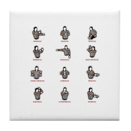 Penalties Tile Coaster