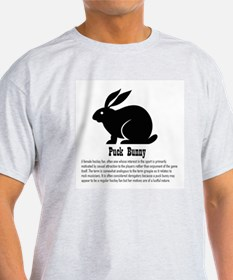 Puck Bunny Ash Grey T-Shirt