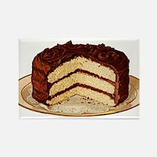 Retro Cake T-shirts Rectangle Magnet (100 pack)