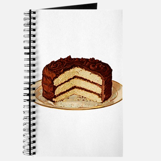 Retro Cake T-shirts Journal
