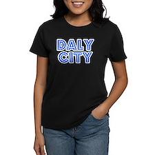 Retro Daly City (Blue) Tee