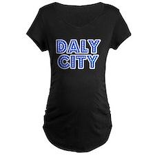 Retro Daly City (Blue) T-Shirt