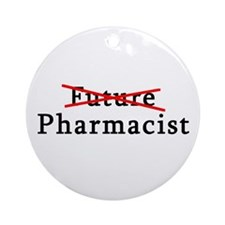 Future Pharmacist No More Ornament (Round)