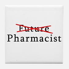 Future Pharmacist No More Tile Coaster