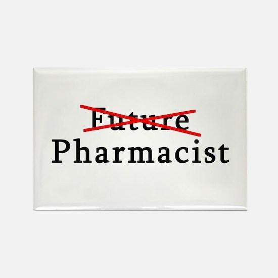 Future Pharmacist No More Rectangle Magnet