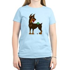 Red Doberman Pinscher T-Shirt
