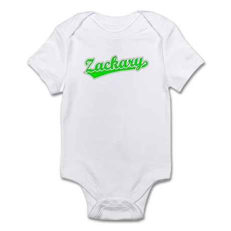 Retro Zackary (Green) Infant Bodysuit