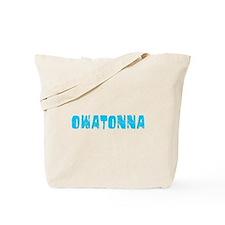 Owatonna Faded (Blue) Tote Bag