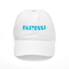 Owatonna Faded (Blue) Baseball Cap