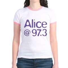 Alice Purple Logo T
