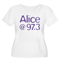 Alice Purple Logo T-Shirt