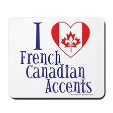 French Canadian Mousepad