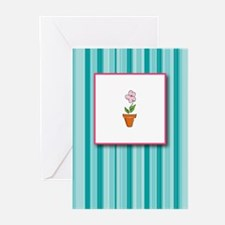 Flower Pot Greeting Cards (Pk of 10)