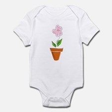 Flower Pot Infant Creeper