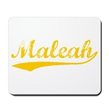Vintage Maleah (Orange) Mousepad