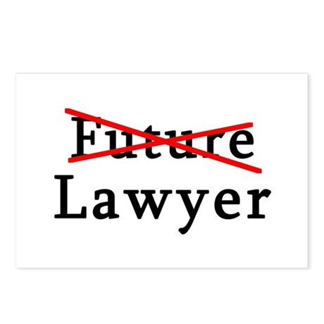 No Longer Future Lawyer Postcards (Package of 8)