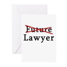 No Longer Future Lawyer Greeting Cards (Pk of 10)