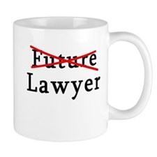 No Longer Future Lawyer Mug
