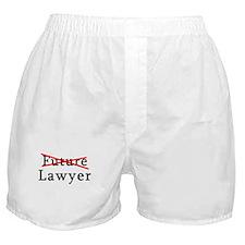 No Longer Future Lawyer Boxer Shorts