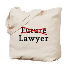 No Longer Future Lawyer Tote Bag